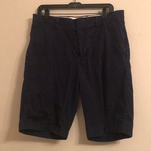J. Crew Navy Shorts Sz 33